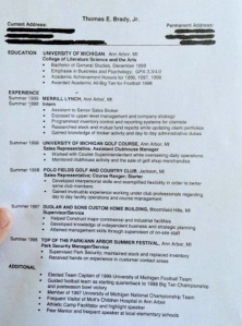 Brady Resume