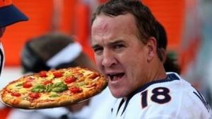 Peyton & pizza
