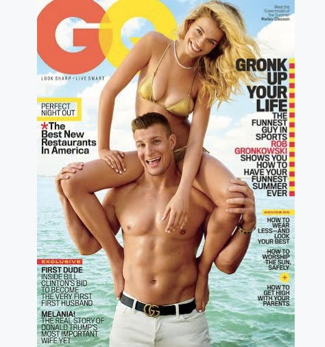 Gronk uncovered