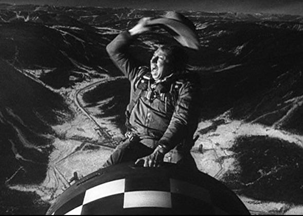 riding the a-bomb