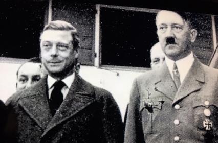 hitler & edward