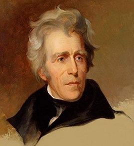 Andrew Jackson with Trump hair