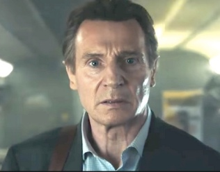Neeson Sees Rushes of Commuter