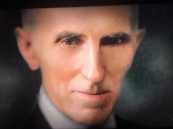 Old Man Tesla