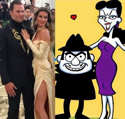 Tom, Giselle, Boris, Natasha