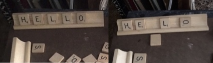 scrabble in library